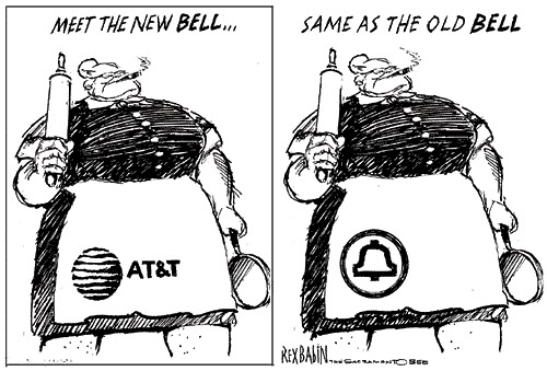 AT&T: Ma Bell Wants Her Monopoly Back