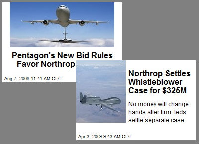 At Northrop Grumman, It's All About the Green